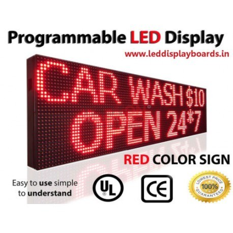 Led Display Board 3 Feet 1 Red Color