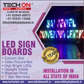 FULL COLOR LED DISPLAY BOARDS IN LUDHIANA