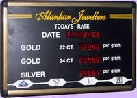 JEWELLERY RATE DISPLAY BOARD IN LUDHIANA