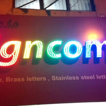 LED GLOWSIGN BOARDS BY TECHON LED IN LUDHIANA