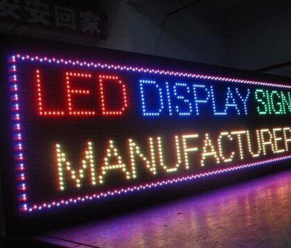 FULL COLOR LED DISPLAY BOARD BY TECHON MANUFACTUERE IN LUDHIANA