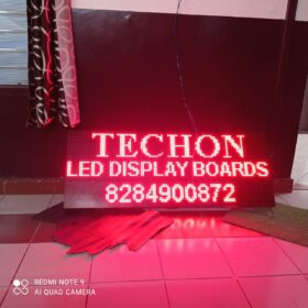 RED LED DIPLAY BOARD